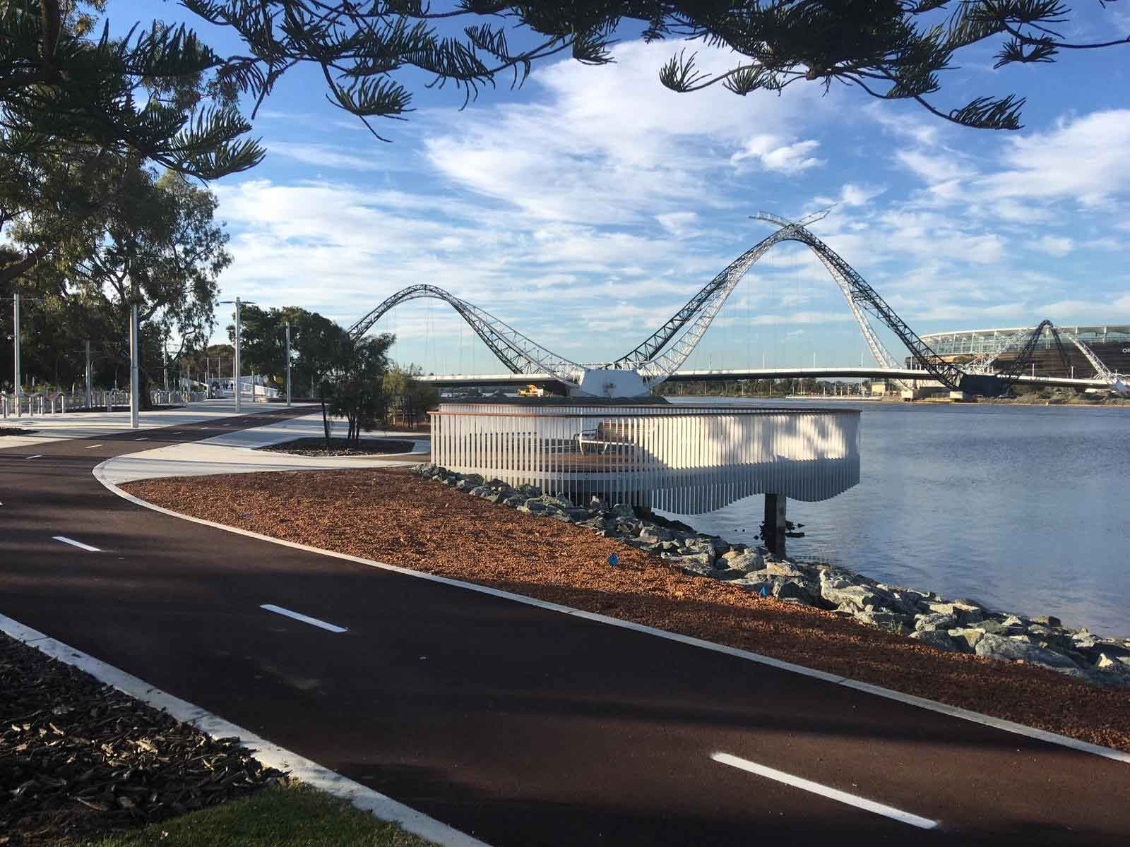 Cannings Purple Matagarup Bridge case study