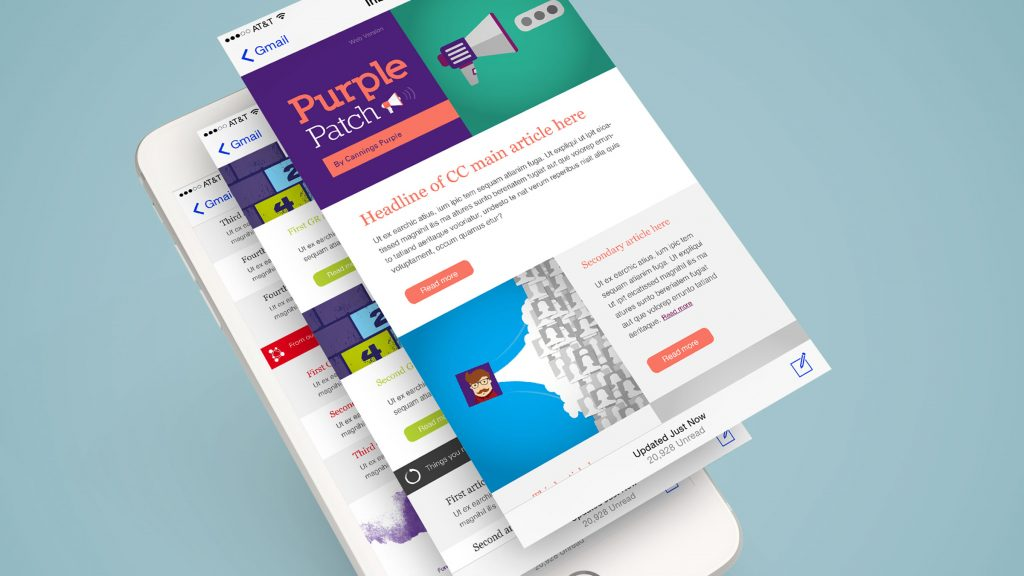 Cannings Purple email marketing solution